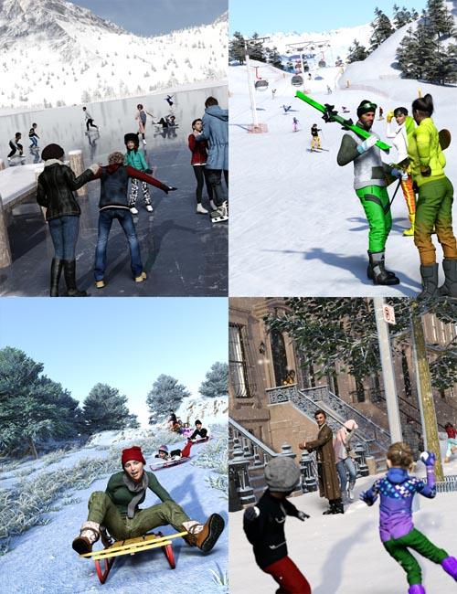 Now-Crowd Billboards - Winter Fun Bundle