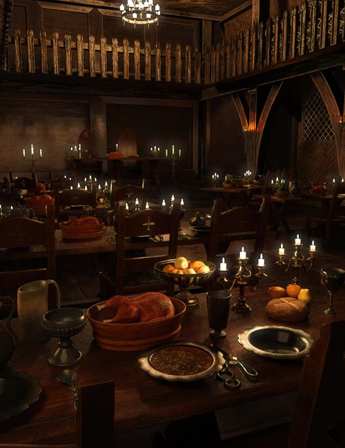 FG Medieval Great Hall