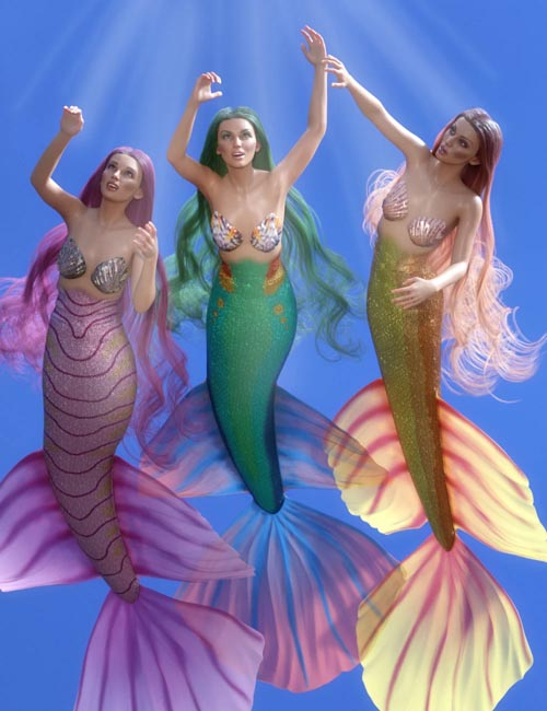 PhilW's Mermaid Tail Textures for Coral 8.1