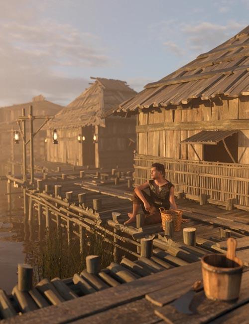 Swamp Huts