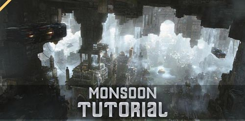 Gumroad - Monsoon - Tutorial - Large Scale Environment Creation