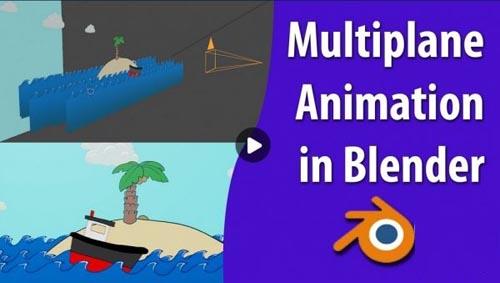 Skillshare - Multiplane Animation in Blender