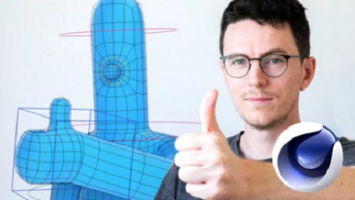 Skillshare - Animation Fundamentals: How to Rig Your First Character in Cinema 4D