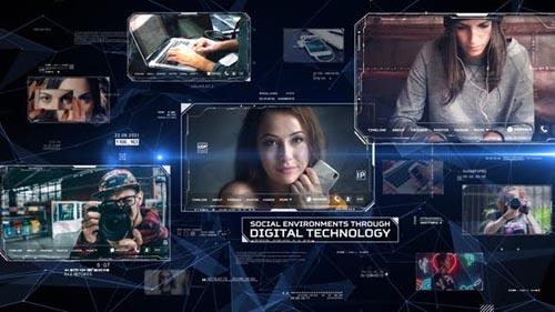 Videohive - Digital Network - 28188734