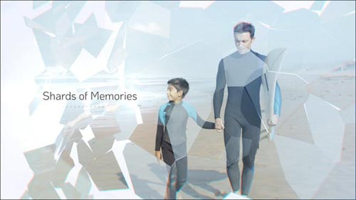Videohive - Shards of Memories | After Effects Template - 31990242