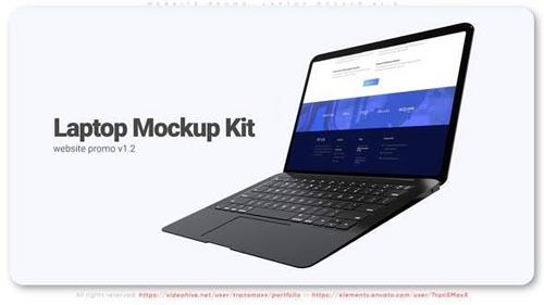 Videohive - Website Promo. Laptop Mockup v1.2 - 32059533