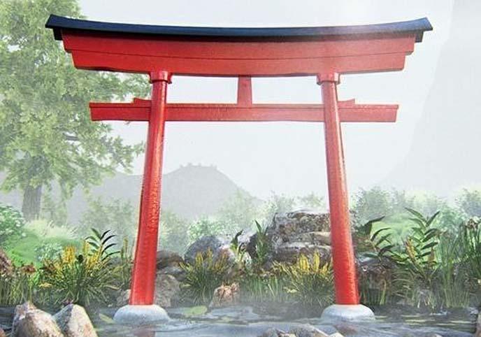 Simple Japanese Torii