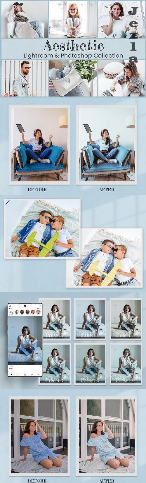 Aesthetic Lightroom Photoshop LUTs - 6465992