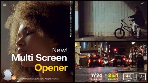 Videohive - Multi Screen Opener - 31144549