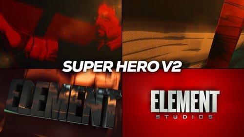 Videohive - Super Hero Logo Reveal Title V2 - 31284906