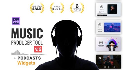 Videohive - Audio Visualization // Music Producer Tool V6 - 24314482
