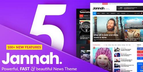ThemeForest - Jannah v5.4.7 - Newspaper Magazine News BuddyPress AMP - 19659555 - NULLED