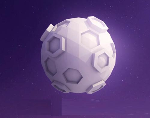 Tutsplus - Create a Low Poly Moon With Cinema 4D