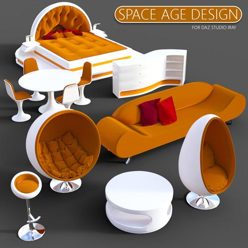 Space Age Design for DS Iray