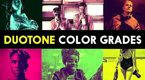 Duotone Color Grades 1006199 - After Effects Presets