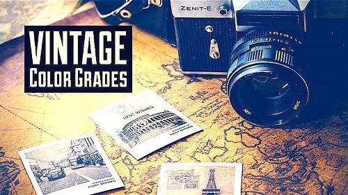 Vintage Color Grades 1005457 - After Effects Presets
