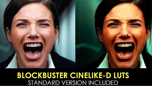 Blockbuster Cinelike-D And Standard Luts 1020618 - After Effects Presets