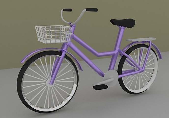Cycle Low Poly Free low-poly