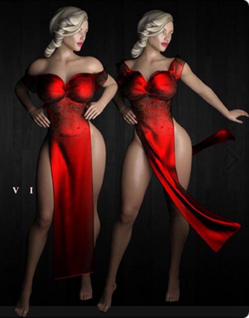 dForce Slit Dress VI