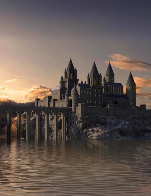 Castle Creator For Daz Studio