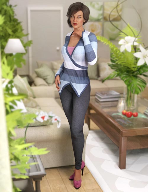 Seija Outfit for Genesis 8 Female(s)