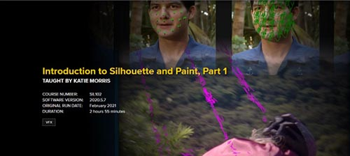 FXPHD - SIL102 - Introduction to Silhouette and Paint, Part 1