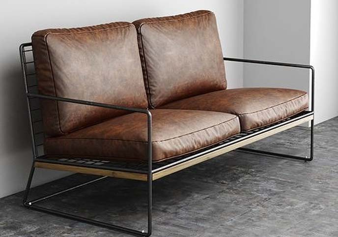 Leather Hachi Sofa