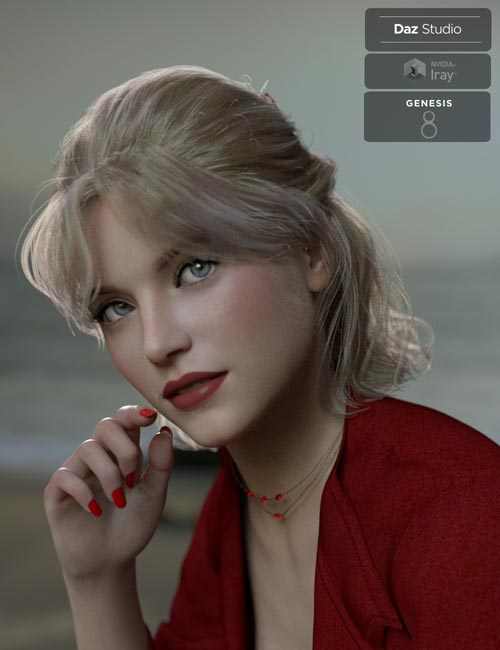 Isabel Casual Hair for Genesis 8 Females