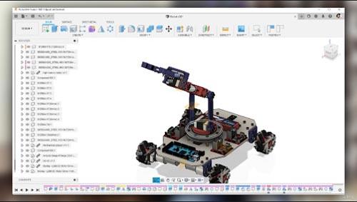 Udemy - Fusion 360 - Robot Design