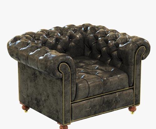 Restoration Hardware Cambridge Leather Chair