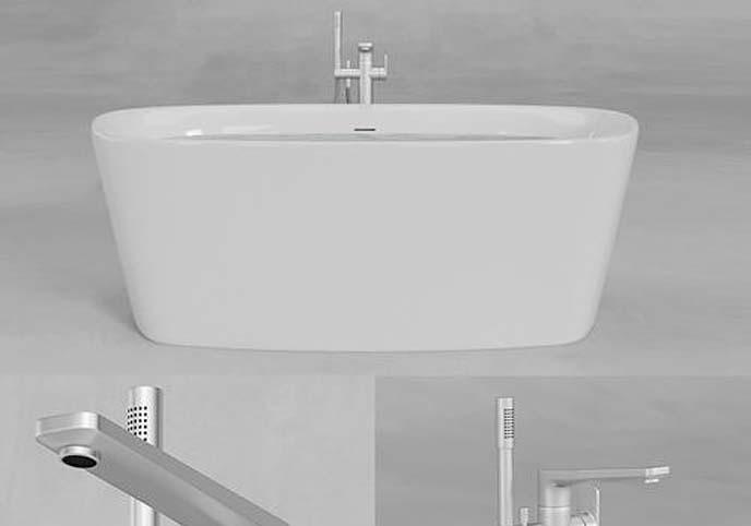 Ideal Standard Dea Duo Bathtub E3066 A6347
