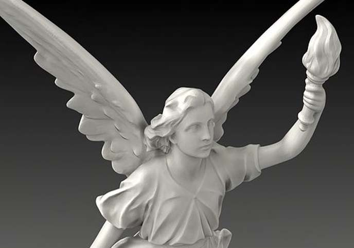 Lucy A Christian Angel Statue