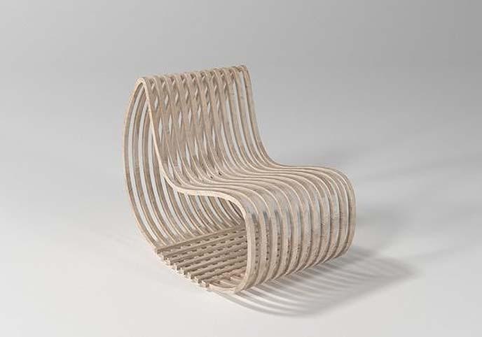 Parametric Simple Wood Chair