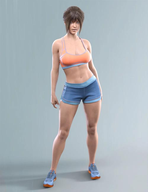 COG Sports Outfit for Genesis 8 and 8.1 Females