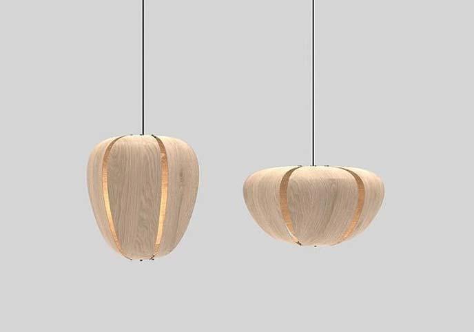 Veneer Pendant Lamp 2