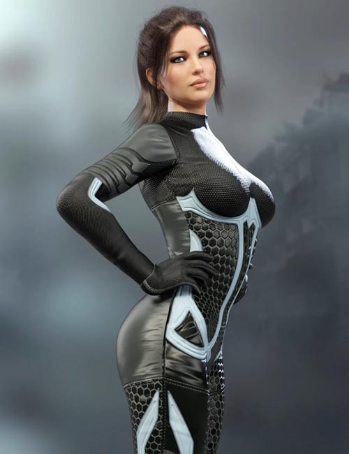 X-Fashion Sci Bodysuit 3 for Genesis 8 Female(s)