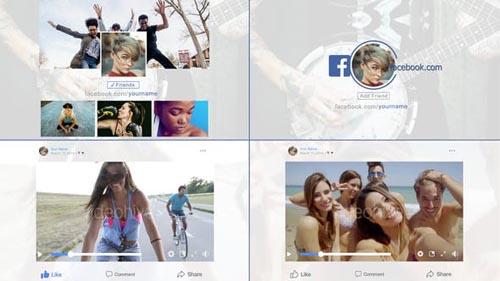 Videohive - Facebook Multipurpose - 22163111