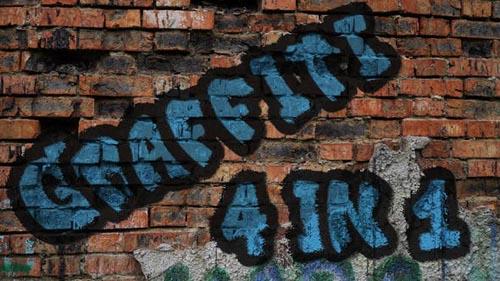 Videohive - Graffiti 4 in 1 pack - 21944102