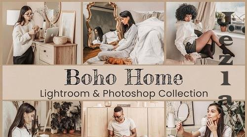Boho Home Lightroom Photoshop LUTs - 6492188