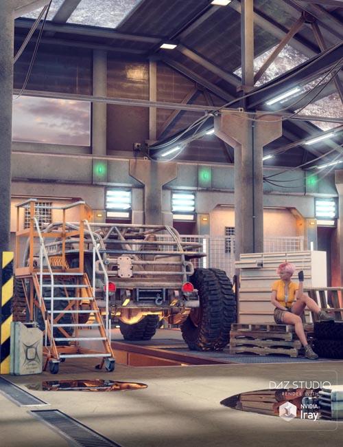 AER Mecha and Robot Modular Repair Bay