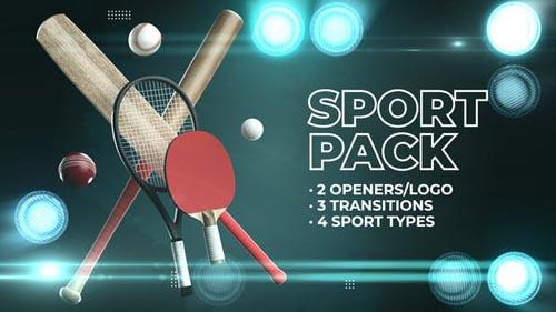 Videohive - Tennis Cricket Baseball Pack - 31980020