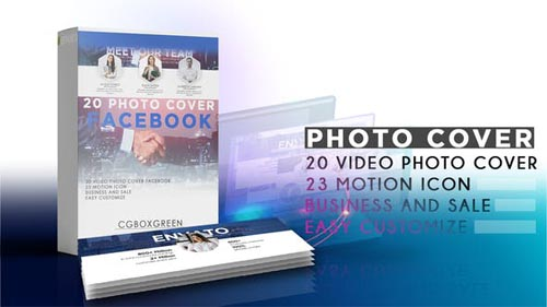 Videohive - Facebook Cover - Corporate Pack - 31971890