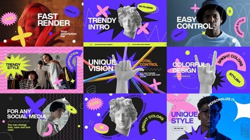 Videohive - Fashion Colorful Opener - 32006016