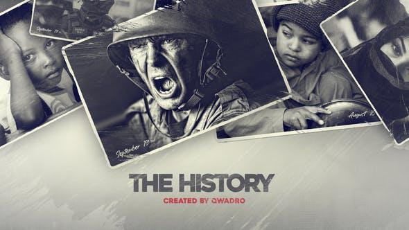 Videohive - History Slideshow Documentary Timeline - 33610573