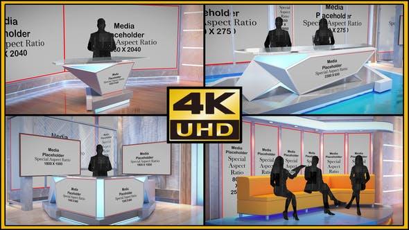 Videohive - Virtual Studio Set - S05 - 33778106