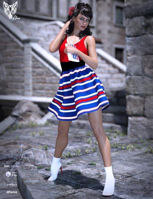Inocencia Dress Texture Pack
