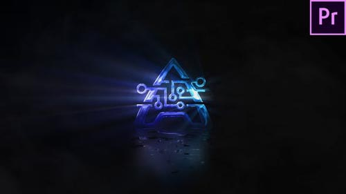 Videohive - Smoke & Light Logo (Premiere Version) - 31940477