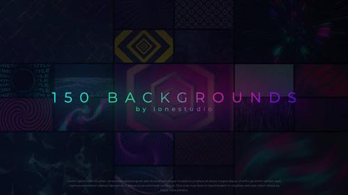 Videohive - 150 Loop Backgrounds - 31993643