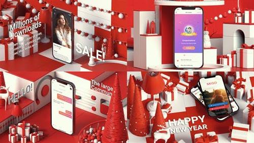 Videohive - Christmas Identity APP Promo - 29740146
