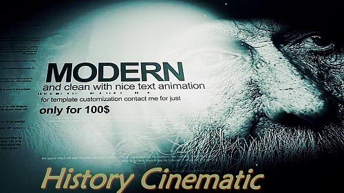 Spot Light History Cinematic Titles 170799 - Project for After Effects